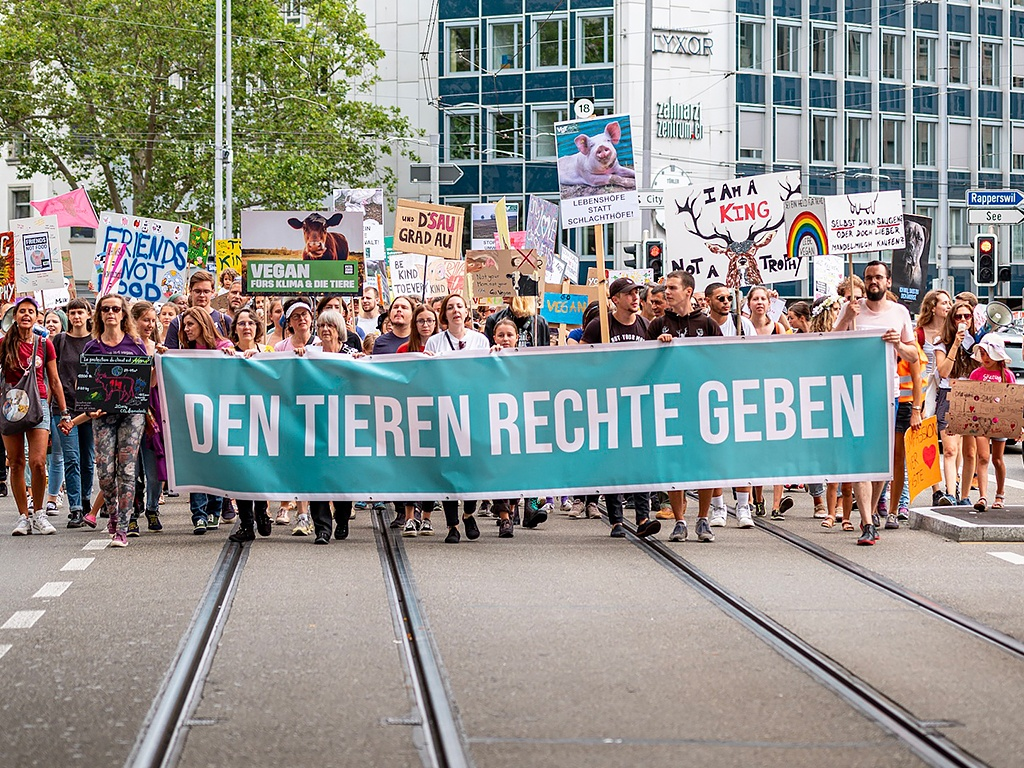 Animal Rights March Zürich